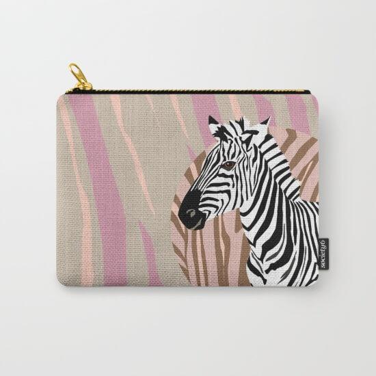 CalliLetters Tasche Zebra