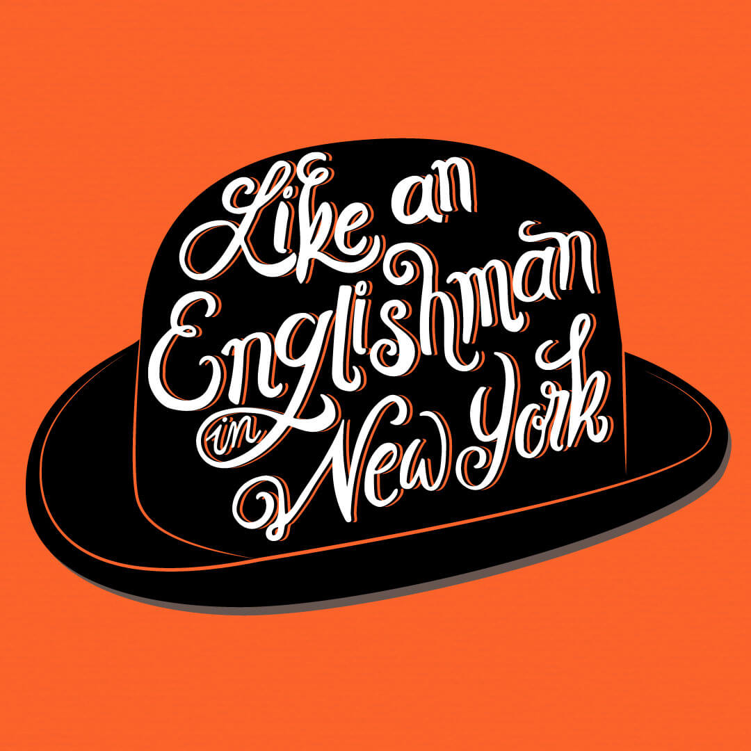 CalliLetters: Like an Englishman in New York