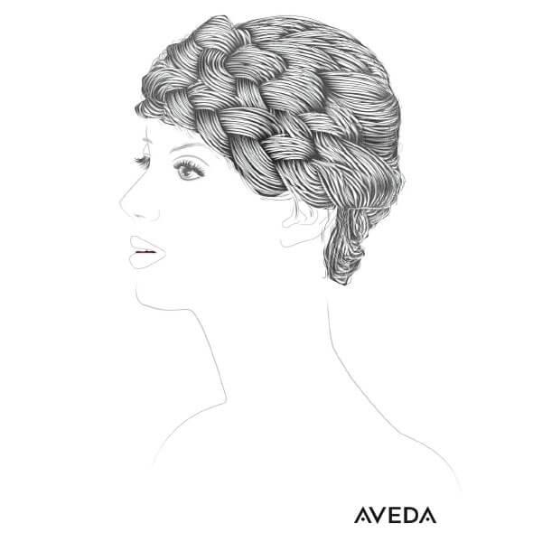 In Zusammenarbeit mit iService.at: Frisurenillustration für Aveda 2