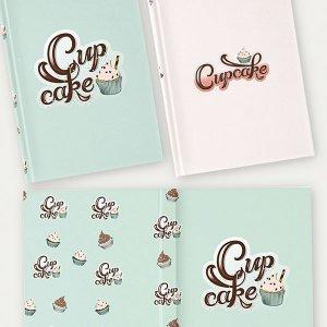Handlettering und Illustration für Notizbücher