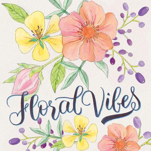 CalliLetters: Brushlettering und Illustration Floral Vibes