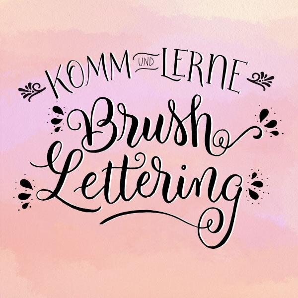 Brush Lettering Workshop von CalliLetters