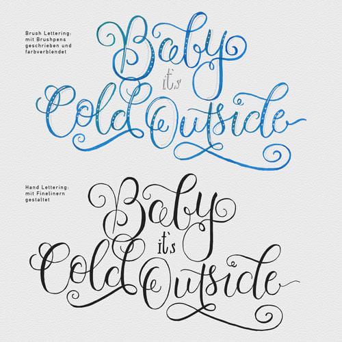 Komm und lerne Brush Lettering mit CalliLetters
