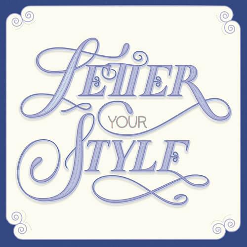 CalliLetters: handgemachter Schriftzug / Letter Your Style / Vintage Letters