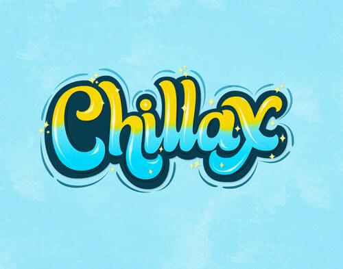 CalliLetters: Handlettering, Chillax