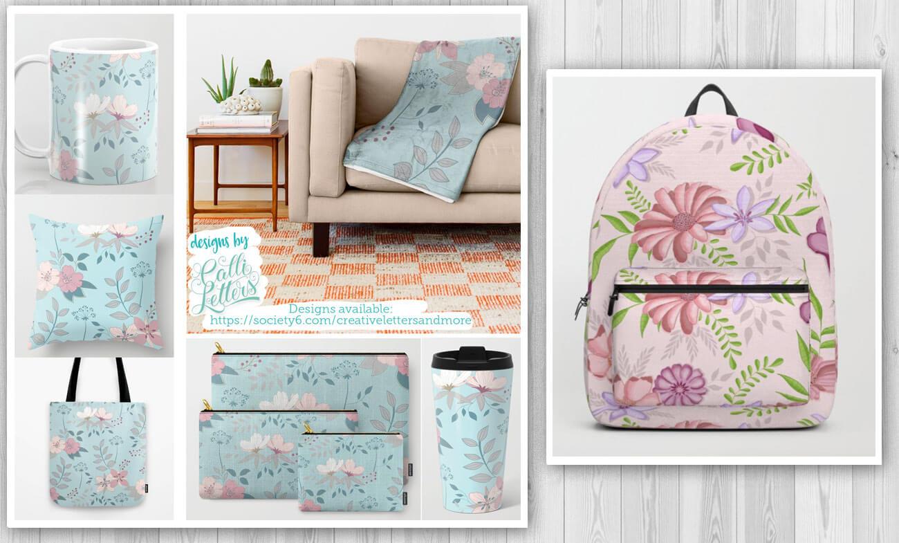 CalliLetters: gestaltet Muster für tolle Produkte