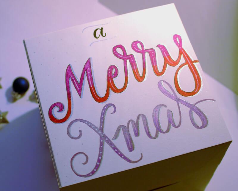 CalliLetters-Brushkalligrafie-Buntbox-Geschenkschachtel-Weihnachten