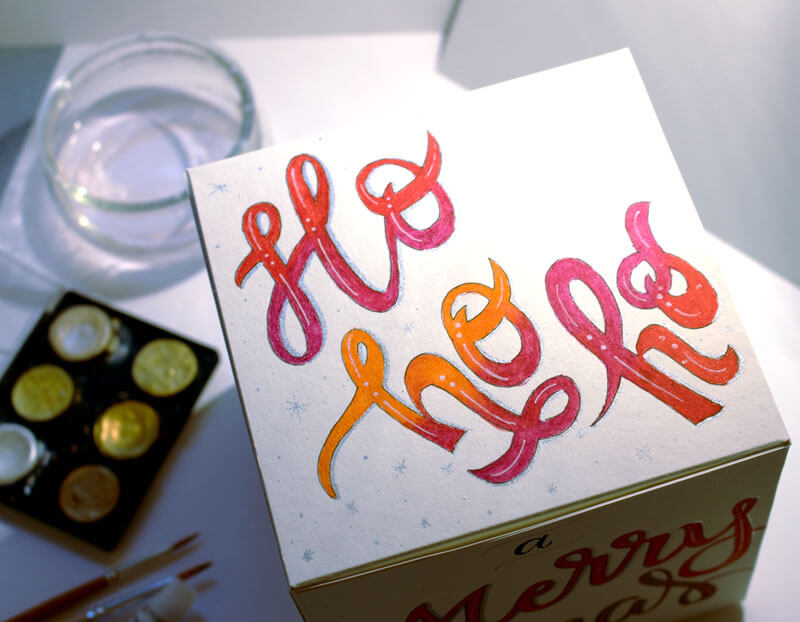 CalliLetters-Handlettering-Buntbox-Weihnachtsidee