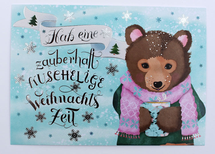 CalliLettersHandletteringPapeterieIllustrationKuscheligeWeihnachten