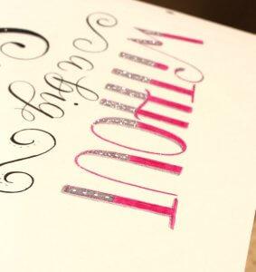 CalliLetters-Brushkalligrafie-Handgeschriebenes-Kundenauftrag-Wien