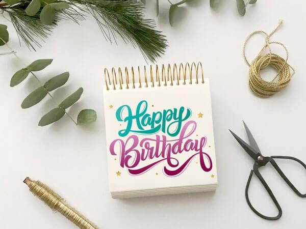 CalliLetters-Handlettering-HappyBirthday-Geburtstagskarte-Grußkarte