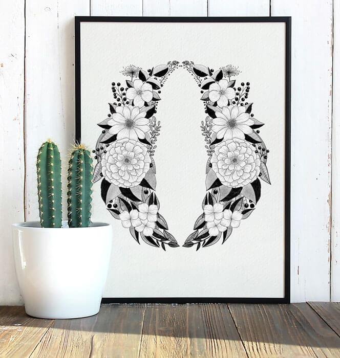 Calliletters-Handlettering-Illustration-Floral-Blumendesign-Branding-Logodesign-Parfum-Beauty