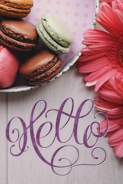 CalliLetters-Handlettering-Macarons-Branding-CorporateDesign-Logodesign-Hello